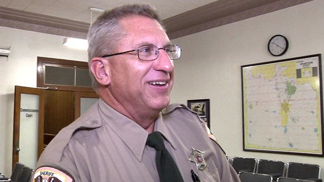 Andy Brazie was named as the new Grayson County fire marshal. (KTEN)
