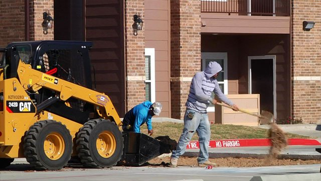 Builders are scrambling to add options to Sherman's housing inventory. (KTEN)