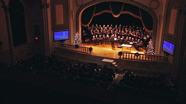 "Five Grayson County churches collaborated to present ""The Story of Christmas."" (KTEN)"