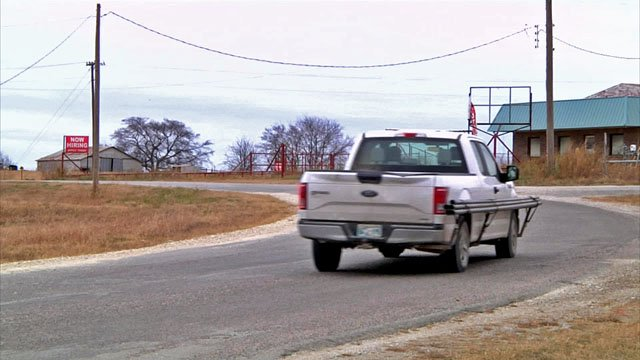 Budget cuts are putting road repairs on hold in Marshall County. (KTEN)