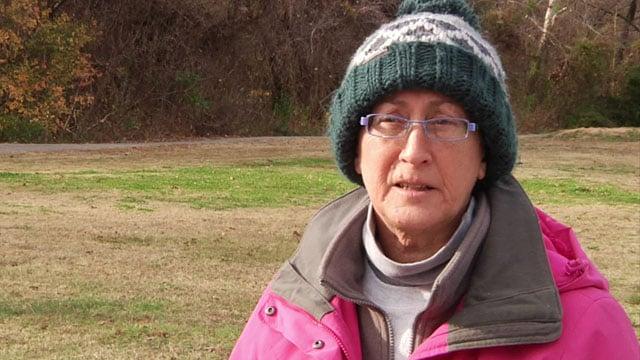 Joanne Leonard said she's looking forward to the Katy Trail in Denison. (KTEN)