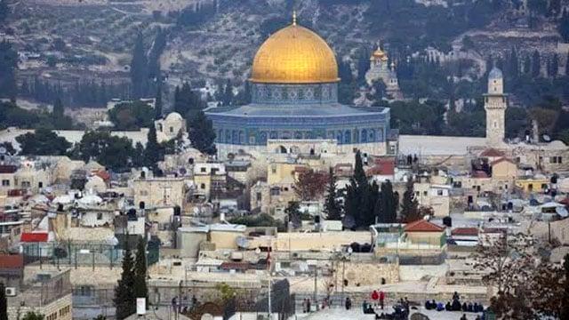 Jerusalem's old city on December 5, 2017. (AP Photo/Oded Balilty)