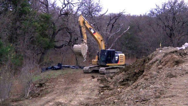 Work is underway to reshape a 17-acre tract across from Texoma Medical Center. (KTEN)