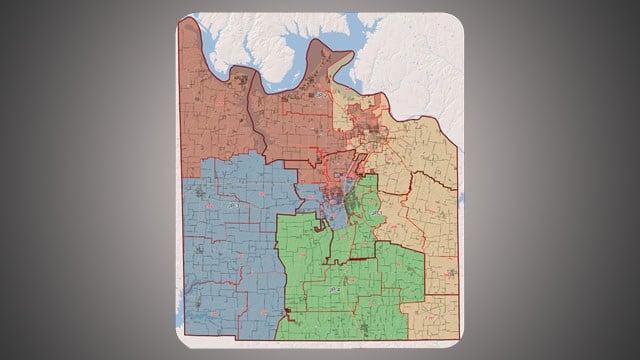 Grayson County has 36 voting precincts. (KTEN)