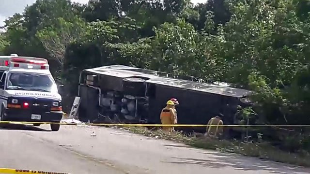 Cdn killed in Mexico bus crash identified