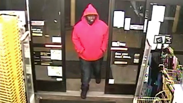 Ardmore police say this person is a suspect in an armed robbery. (Surveillance photo)