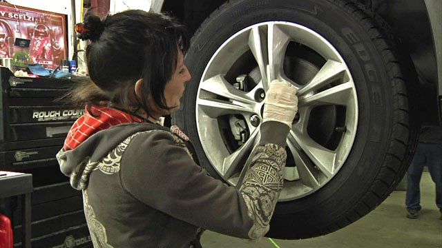 Motorists are advised to check tires and batteries as freezing weather sets in. (KTEN)