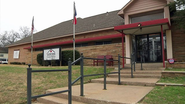 The Grayson County Shelter in Denison is the County's only homeless facility open to all. (KTEN)