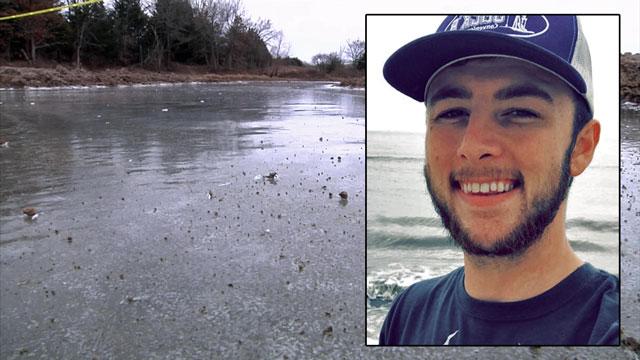 The body of Colton Pennington was found in a frozen pond near Ada. (KTEN)