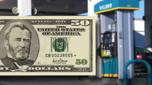 Denison police say at least two local businesses reported receiving counterfeit currency. (KTEN)