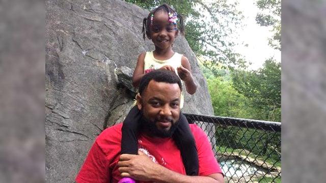 Nathaniel James and his daughter Saadiya. (Sherman PD)