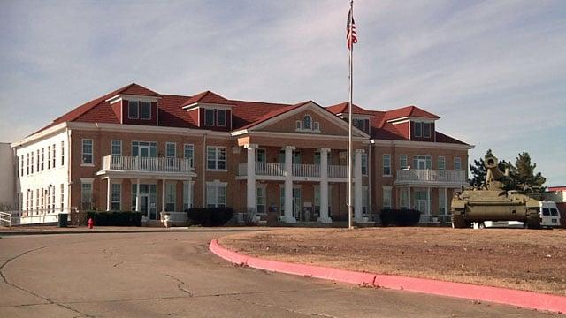 The Ardmore Veterans Center. (KTEN)