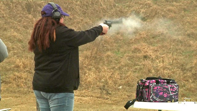 The Well Armed Woman has chapters across the nation. (KTEN)
