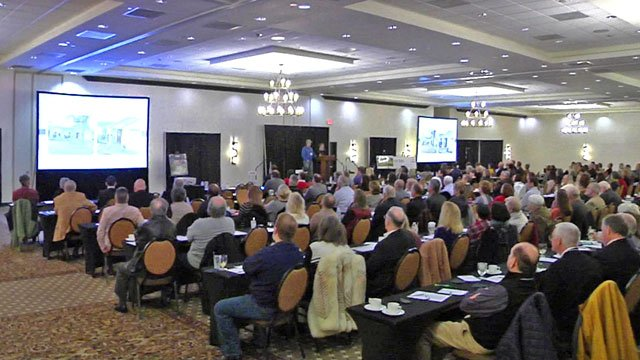 The 2018 Denison Development Summit was well-attended. (KTEN)