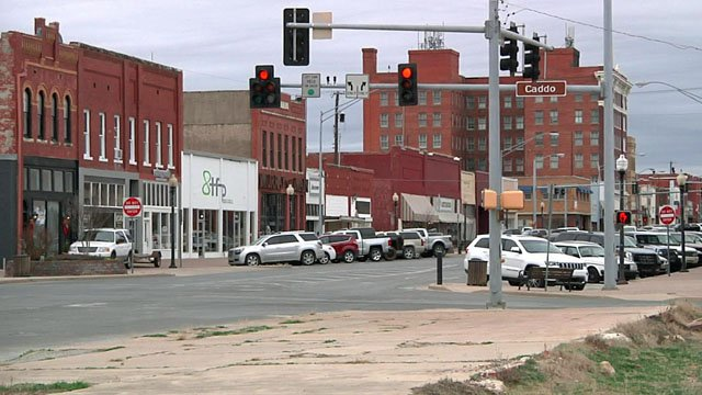 A view of downtown Ardmore. (KTEN)