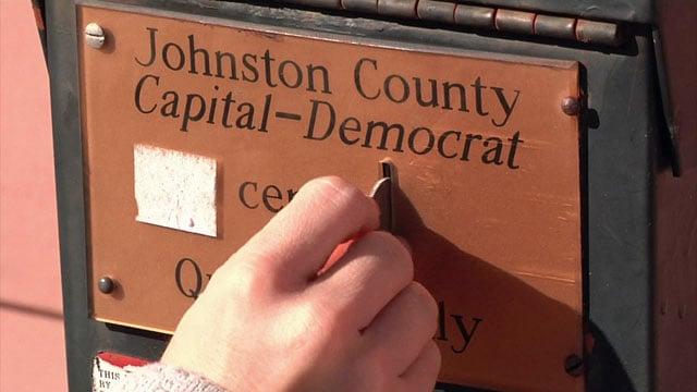 The Johnston County Capital-Democrat has been in business since 1901. (KTEN)