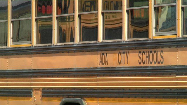 Ada City Schools says a school bond package will be used to update its fleet of aging buses. (KTEN)