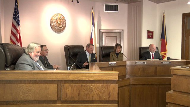 Grayson County Commissioners were pleased with the 2017 budget review. (KTEN)