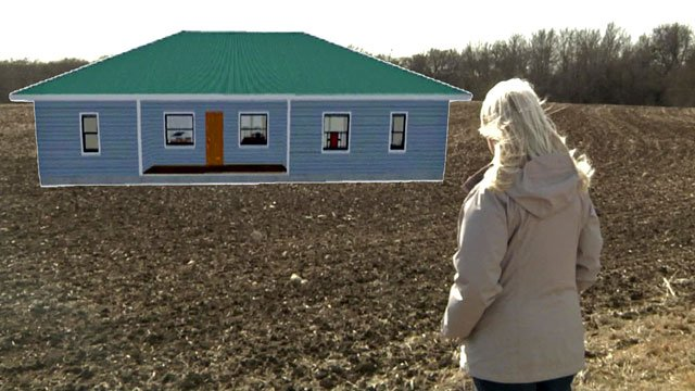 An artist's conception of a cottage planned for Geary Girls Ranch in Grayson County. (KTEN)