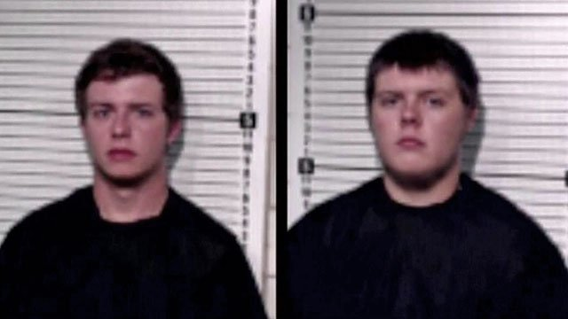 Tripp Bird and Josh Halliburton were arrested in connection with the crash that eventually led to Jennifer Russel's death. (Grayson County Jail)
