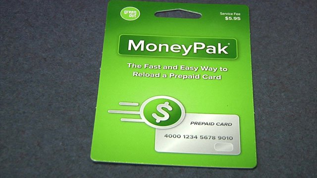 Police said scammers often request prepaid credit cards like this.  (KTEN)