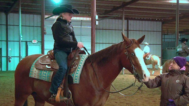 The Winter Slide in Ardmore attracts equestrians from around the world. (KTEN)