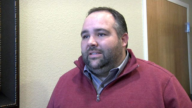Pastor Nathan Cain was named to lead the Sherman police chaplain program. (KTEN)