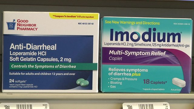 Imodium and its generic equivalent loperamide are being abused by teens, experts warn. (KTEN)