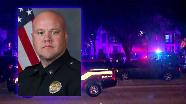 Texas officer and civilian killed in late night standoff
