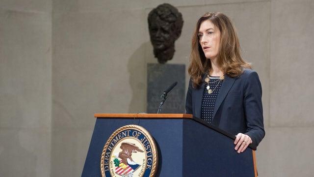 Associate Attorney General Rachel Brand (Department of Justice photo)