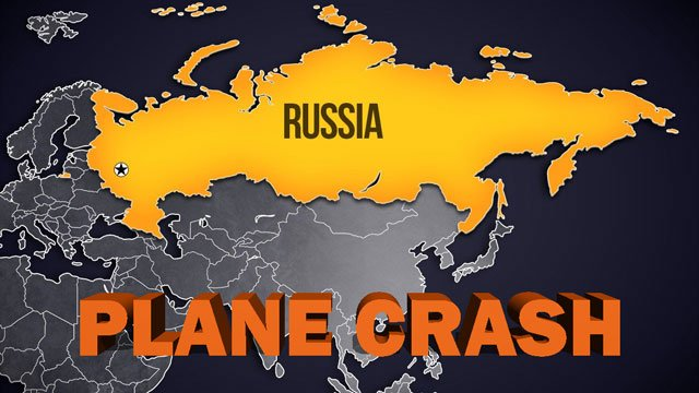 A Russian passenger jet crashed after taking off from a Moscow airport. (KTEN)