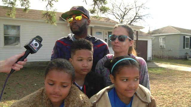 Patrick and Kim Piggee and their children received needed assistance from Restoring Lives in Ardmore. (KTEN)