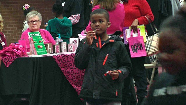 Hundreds attended the Texoma Black Expo at Austin College. (KTEN)