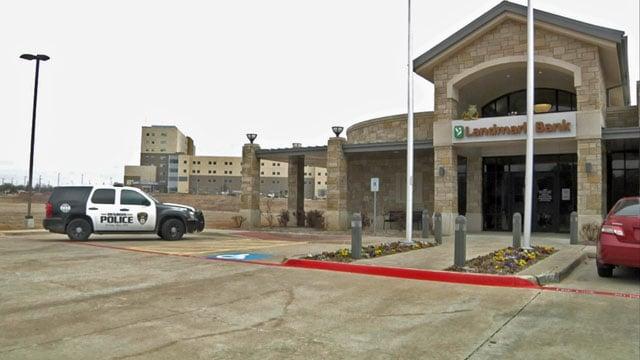 A man held up the Landmark Bank branch near Texoma Medical Center. (KTEN)