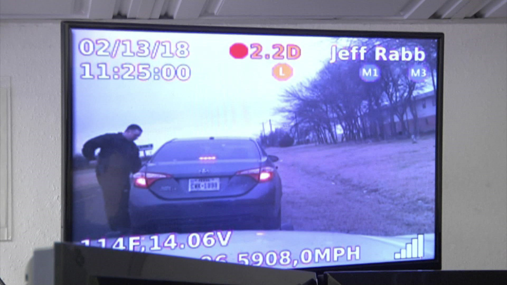 The PatrolScout system lets dispatchers keep an eye on traffic stops and other law enforcement situations. (KTEN)