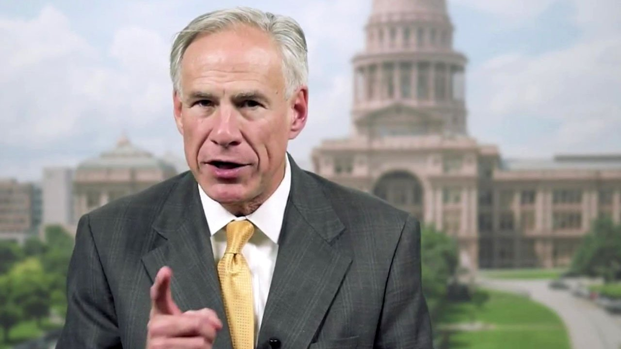 "Gov. Greg Abbott explains his proposed ""do not hire"" list for Texas schools. (YouTube)"