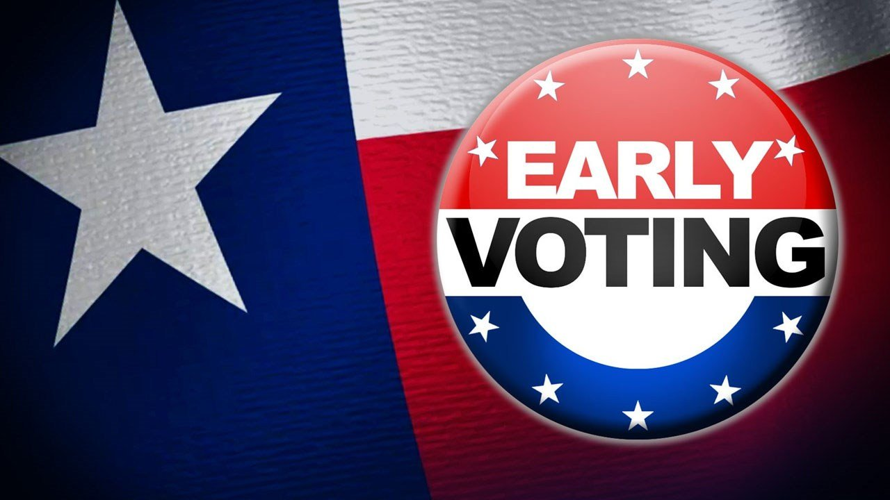 Early voting starts on Tuesday!