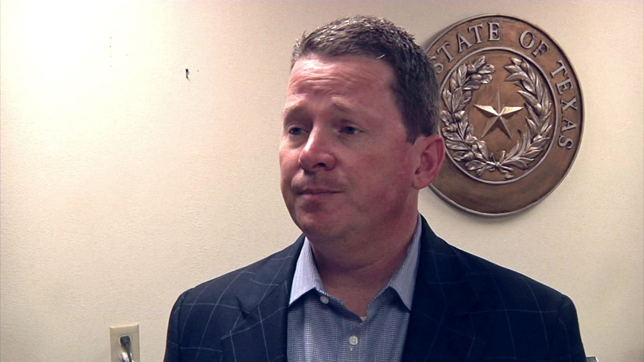 Outgoing Grayson County District Attorney Joe Brown said his interim replacement should be named from his staff. (KTEN)