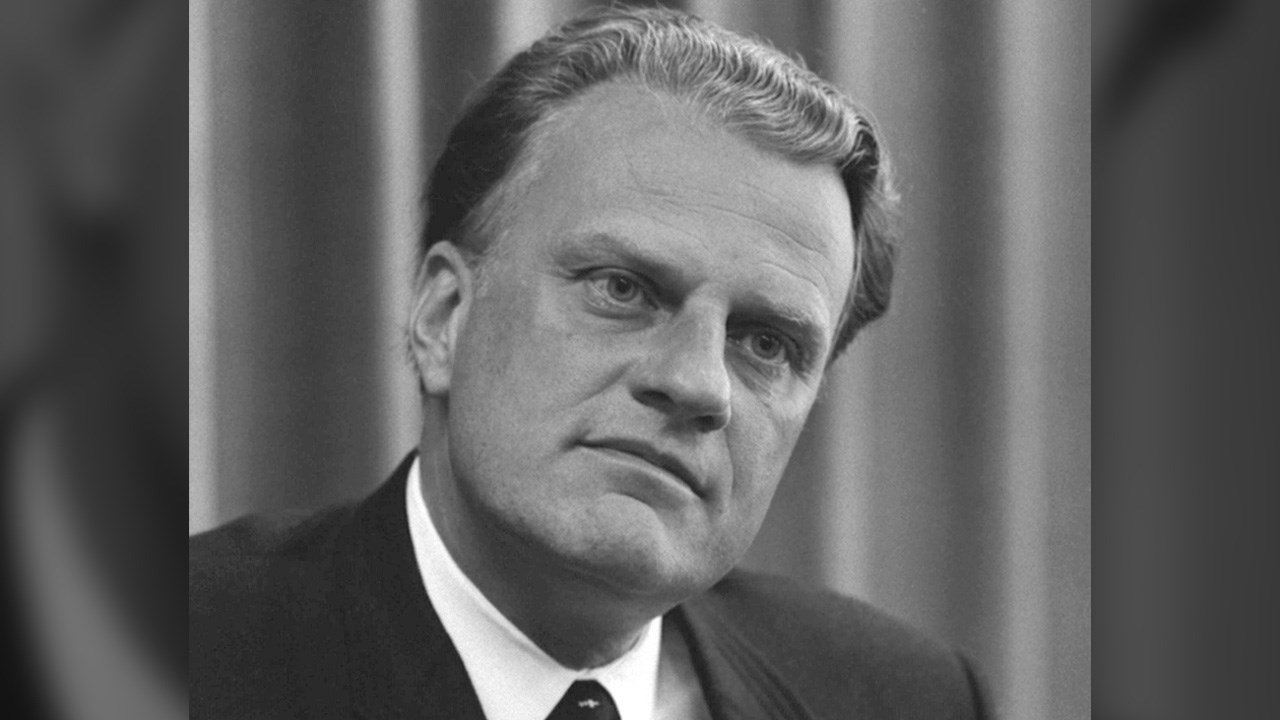 Rev. Billy Graham preached the Gospel to millions around the world. (Library of Congress)