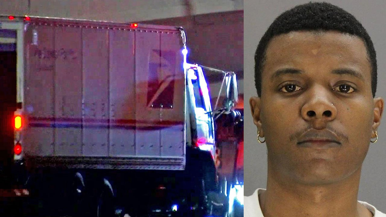 Donnie Ferrell was arrested in connection with the shooting death of a U.S. Postal Service truck driver in Dallas. (KXAS/Dallas PD)