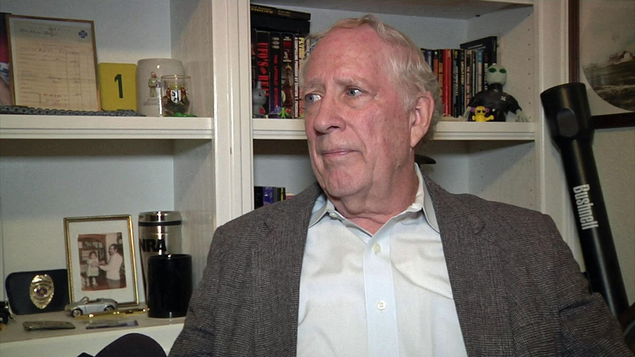 Gary Neitzel has been investigating UFOs for nearly 60 years. (KTEN)