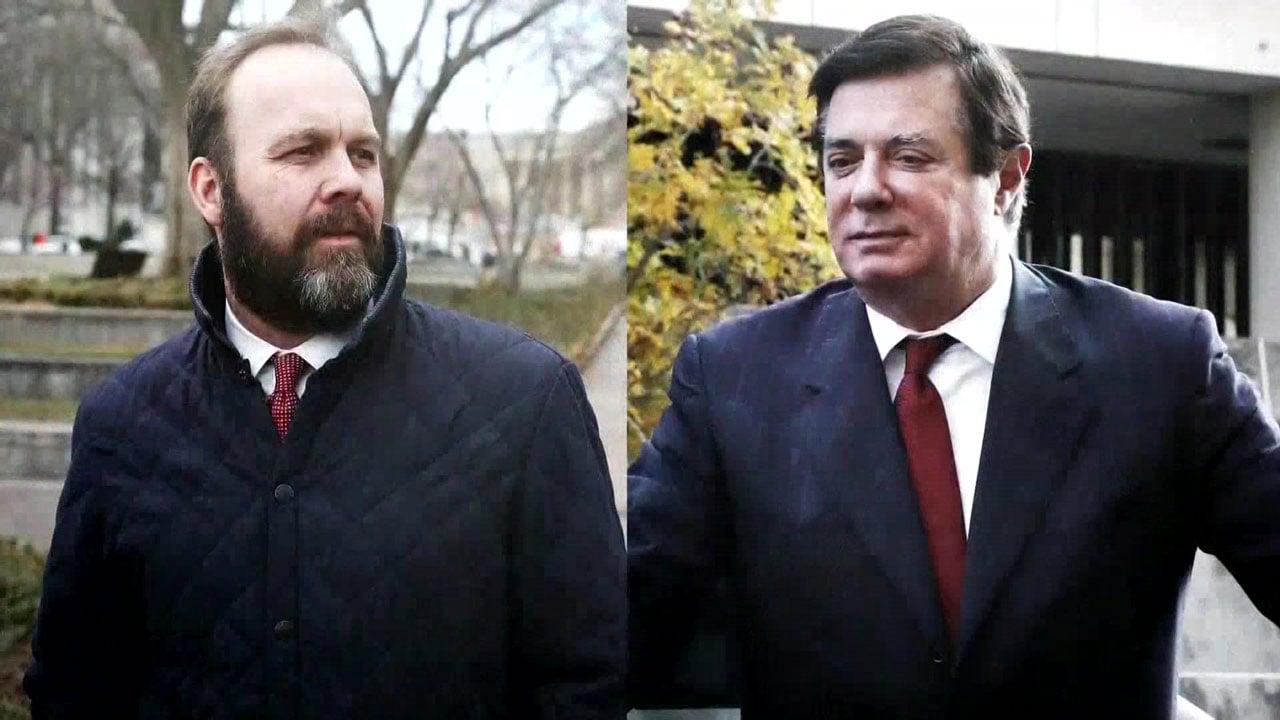 Rick Gates (left) and Paul Manafort (NBC News)
