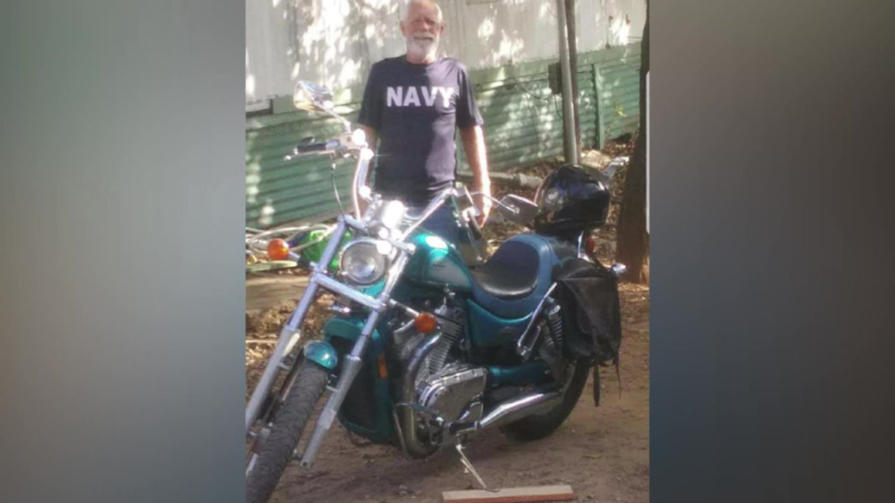 David Turner shared this photograph of his stolen motorcycle. (Courtesy)
