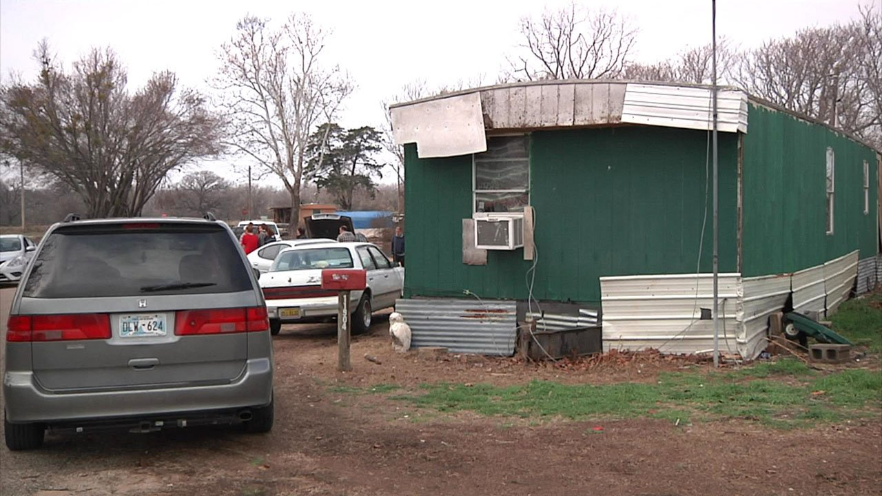 A judge decided that the Debord family's Thackerville home would be condemned. (KTEN)