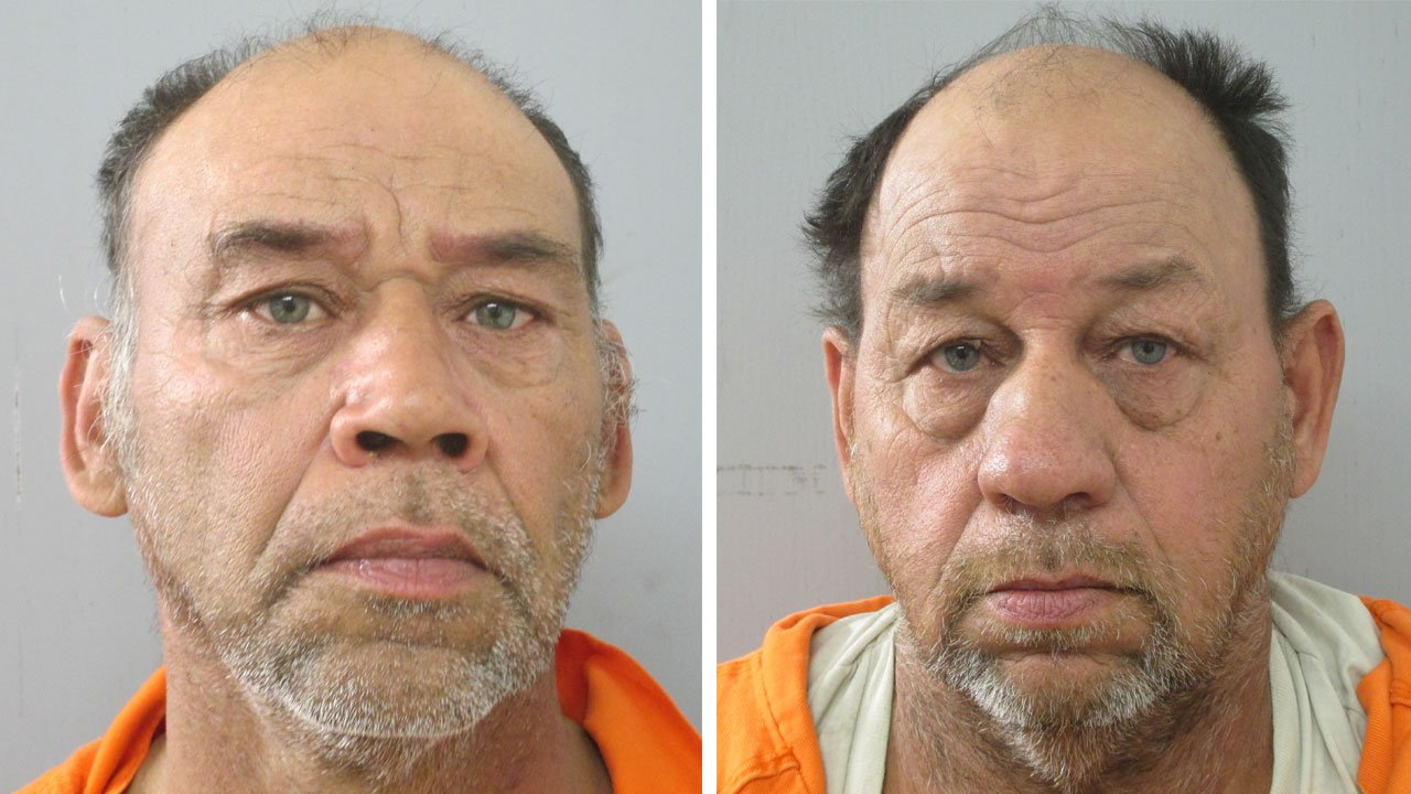 Wilson and Jerry Debord were arrested Monday in connection with code violations at their Thackerville property. (Photos: Love County Sheriff's Office)