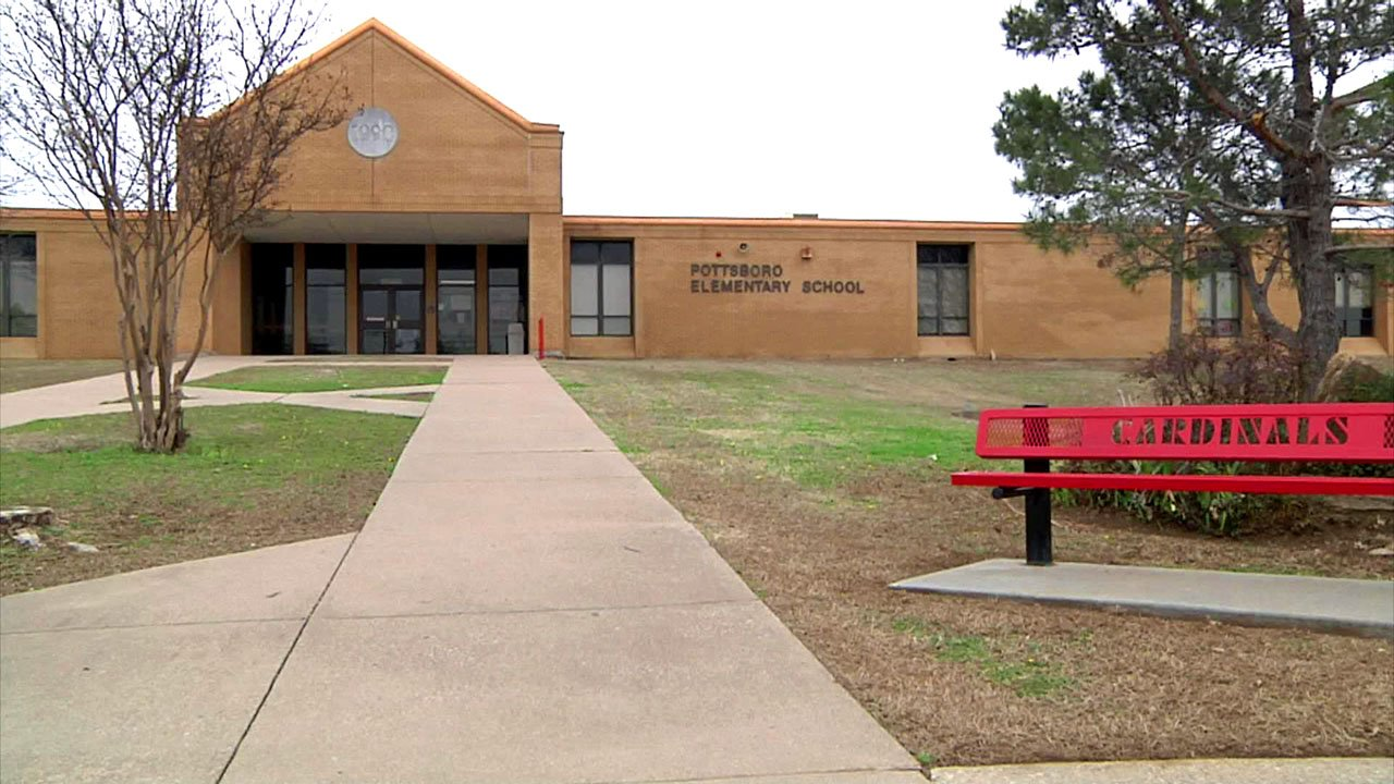 Pottsboro Elementary School. (KTEN)