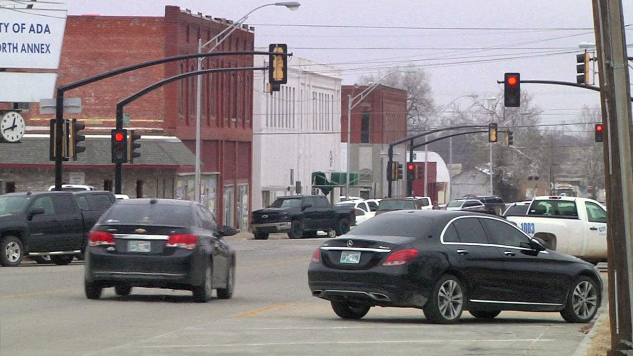Downtown Ada, Oklahoma. (KTEN)