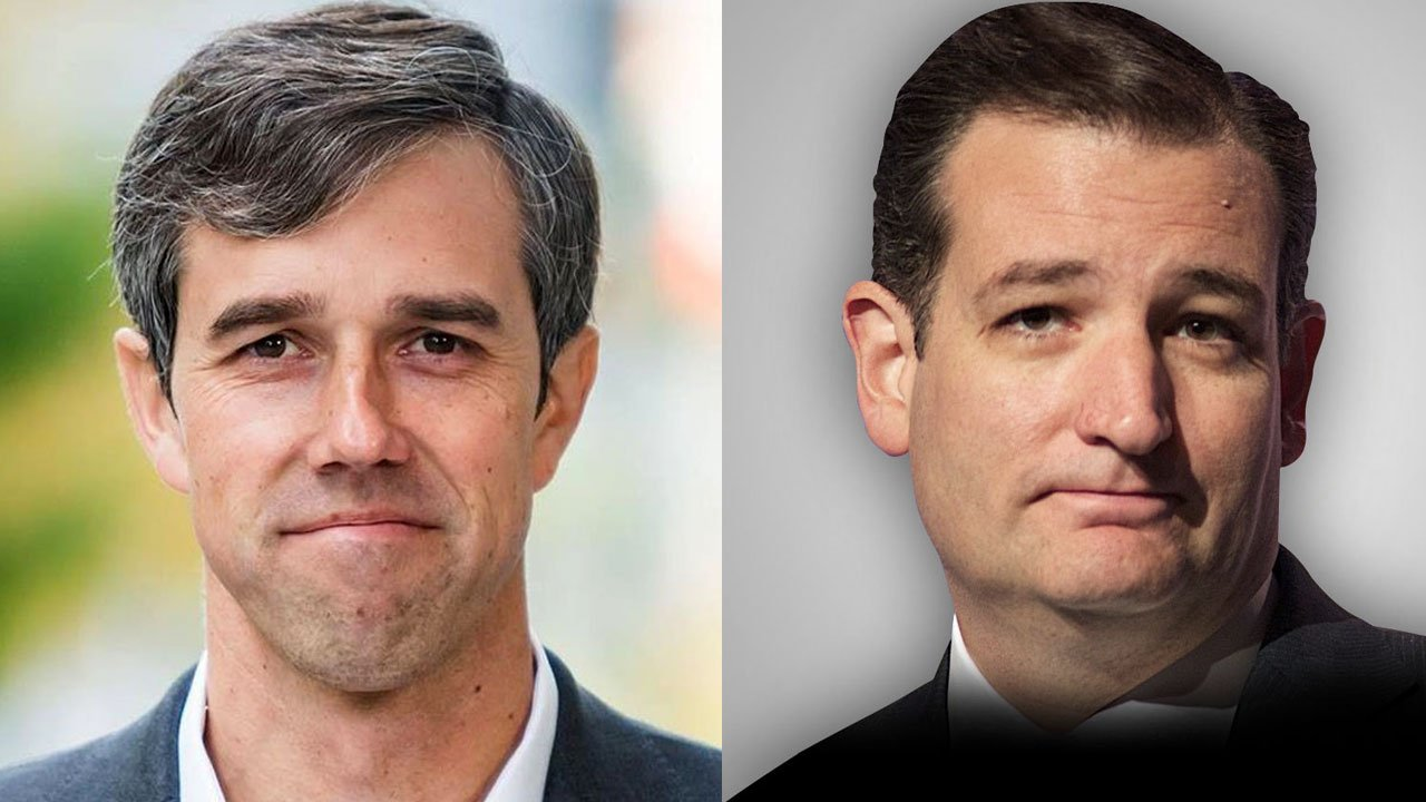 Democrat Beto O'Rourke (left) will challenge incumbent Republican Texas Sen. Ted Cruz on the November ballot. (Photos: Beto for Senate/Jamelle Bouie / CC BY 2.0)