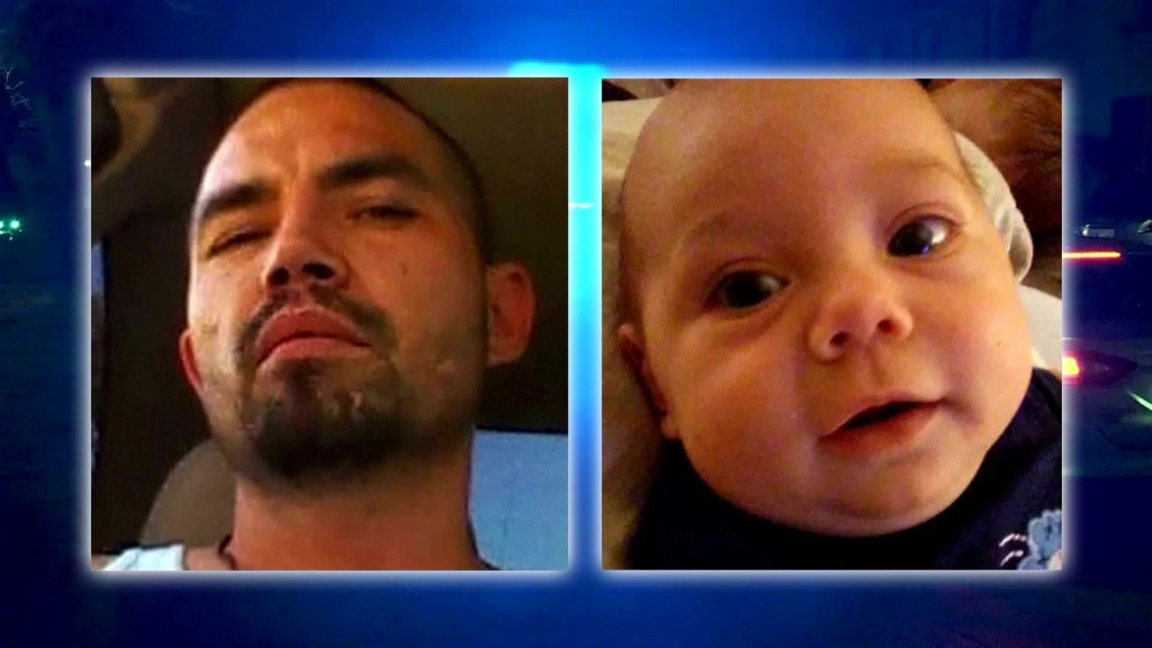 Victor Minjarez was arrested after the body of 7-month-old Jody Minjarez was discovered. (KFOR)