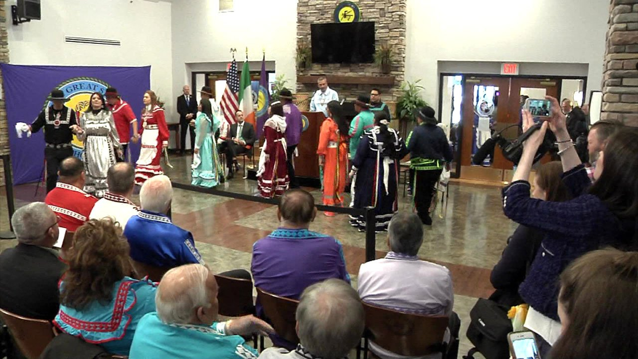 The Choctaw Nation welcomed Irish Prime Minister Leo Varadkar to Durant. (KTEN)